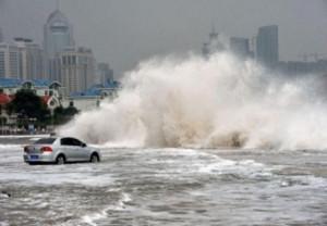 Во Владивостоке ожидается тайфун